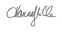 Signature - Hanna